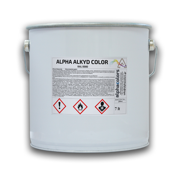alpha alkyd color