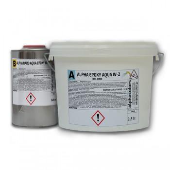 alpha epoxy aqua w-2