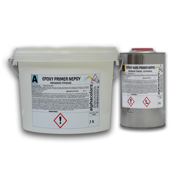 epoxy primer νερού ανοδικής υγρασίας
